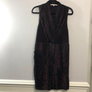 Rachel by Rachel Roy Size L faux wrap Dress 👗